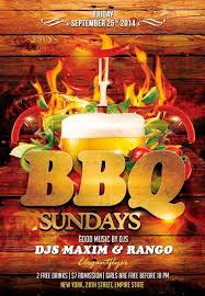 Barbecue Flyers Barbecue Party Free Flyer Psd Template Download Psd For