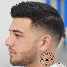 short haircut for guys with thick hair