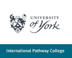 york ac logo. university of york international pathway college logo ac