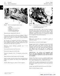 john deere 2240 tractor s n 349999l tm4301 technical manual pdf enlarge