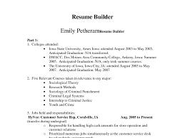 Free Resume Builder Download Resume Resume Builder Software Alarming Resume Building Software 98