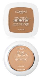l oreal paris true match minéral pressed powder and true match powder