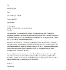 Best Letter Of Recommendation For Medical School Letters Of Recommendation For Medical School Sample Free Resumes Tips