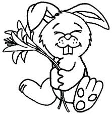 Cute Bunny Coloring Pages To Print Coloring Pages For Cute Bunny