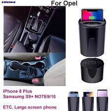 Araba Qi hızlı kablosuz şarj hızlı şarj için Opel Astra Zafira  Insignia|Cables, Adapters & Sockets