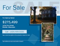 Beautiful Free For Sale By Owner Fsbo Flyer Template