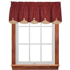 Red Apple Kitchen Curtains