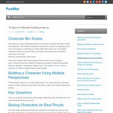 how to create fictional characters poewar pearltrees how to create fictional characters poewar