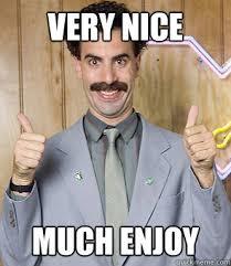 Borat memes | quickmeme via Relatably.com