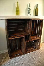 wood crate furniture diy. Wood Crate Bookshelves Best Bookshelf Ideas On Furniture Wooden Crates At And Desk . Diy O