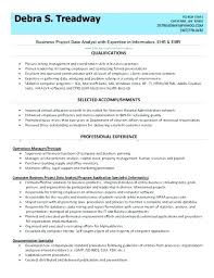 Marketing Data Analyst Resume Sample Database Of Actual Resumes ...