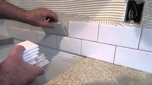 Home Design Ideas How To Tile Your Kitchen Backsplash In One Day