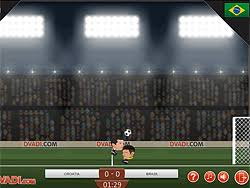 Football Heads: 2014 World Cup Game - Play online at Y8.com