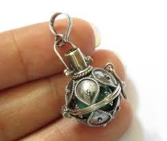 sterling silver 16mm raindrop harmony ball pendant with peridot hb 427 dg jpg