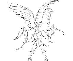 Free Pegasus Coloring Pages 001