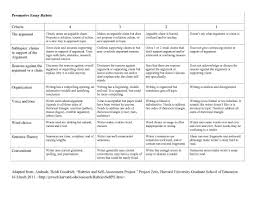 Persuasive Writing Rubric To Help Improve Writing Repinned By