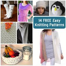 Free Easy Knitting Patterns Adorable 48 FREE Easy Knitting Patterns From Craftsy