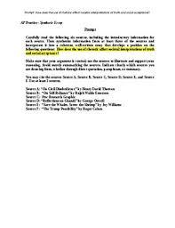 Ap English Synthesis Essay Langauge Arts Writing Ap English Language And Composition