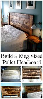 do it yourself pallet furniture. DIY King-Sized Pallet Headboard Tutorial - 150 Best Projects And Furniture Crafts Page 36 Of 75 \u0026 Do It Yourself