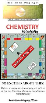 best ideas about teaching chemistry chemistry we are so excited about this chemistry monopoly board game kids will play the