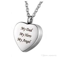 whole funeral jewelry engraved text dad photo flat heart pendant can open stainless steel to commemorate lover s pendant gold pendants for necklaces