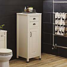 Solid Oak Bathroom Tallboy