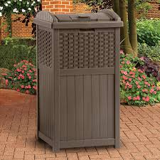 trash can awesome trash can outdoor terrific trash can outdoor from decorative outdoor garbage cans