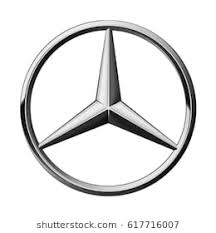 mercedes logo. Delighful Mercedes Valencia Spain  March 27 2017 Mercedes Benz Logo Printed On Paper And In Logo E
