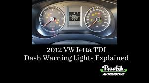 Blinking Oil Light Vw Jetta 2012 Vw Jetta Tdi Dash Warning Lights Explained Pawlik