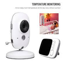 baby room monitors. Vb603 Baby Monitor 3.2\u0027\u0027 LCD IR Night Vision 2 Way Talk 8 Lullabies Temperature Digital Video Radio Nanny Babysitter-in Monitors From Security Room