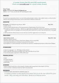 Fresher Objective In Resume Summary For Fresher Resume Career Resume