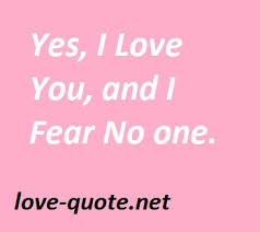 Expressing Love Quotes