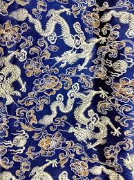 Chinese Fabric Patterns Simple Decoration