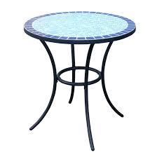 round metal patio table small round metal patio table outdoor bistro mosaic metal garden furniture glass