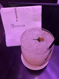 chandelier lounge verbena cocktail