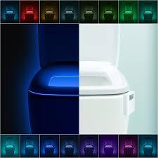 Bathroom Led Night Lights New Design Advanced 16 Color Cycle Motion Sensor Led Night