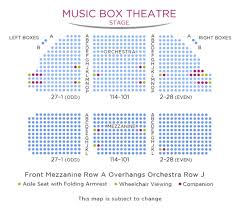 The Music Box Theater Seating Chart Dear Evan Hansen One Of Europes Leading Ticket Agents