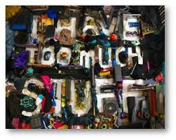 Image result for too much stuff