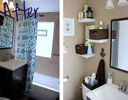 Unique DIY Bathroom Wall Dcor Idea to Look Simple and Modern