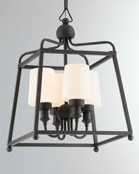 quick look prodselect checkbox libby langdon sylvan 4 light black forged outdoor chandelier