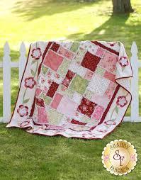 Flannel Rose Rag Quilt Kit &  Adamdwight.com