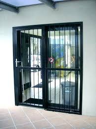 sliding glass door security bar commercial door bar lock door security bar sliding glass door security