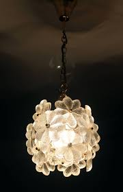 palwa glass flower pendant light brass ceiling lamp fl flower pendant light fixture lotus flower hanging light fixture