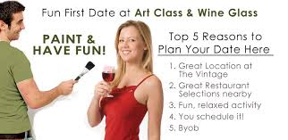 first impressions are very important when dating but relax because you have found a fun first date idea at houston s premier byob paint sip studio