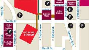 Parking Lucas Oil Stadium