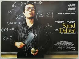 stand and deliver jaime escalante words   the school the teachers the parents the students no one cared