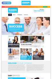 business services template free business services templates templatemonster