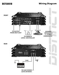wiring diagram monoblock amp wiring diagram for you • amazon com lanzar dct5001d 5000 watt digital mono block amp wiring diagram two 2 ohm dvc wiring diagram