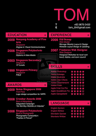 Resume Design By Icccyboi On Deviantart Infographic Visual