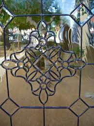 stained glass door inserts beautiful bevels leaded glass door inserts sans stained glass garage door window